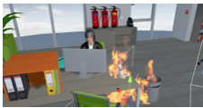Vive & DK2 FireSimulator: Safety Trainer