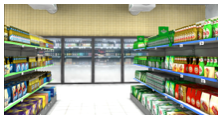 Interactive Super Market Virtual Shopper