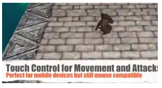 Gaming Touch Control Combat System