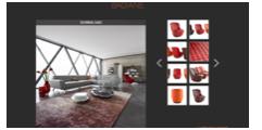 Roche Bobois Interactive Trade Tool